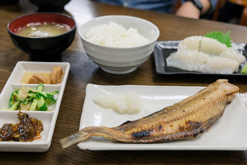 武田鮮魚店 食堂 味処たけだ