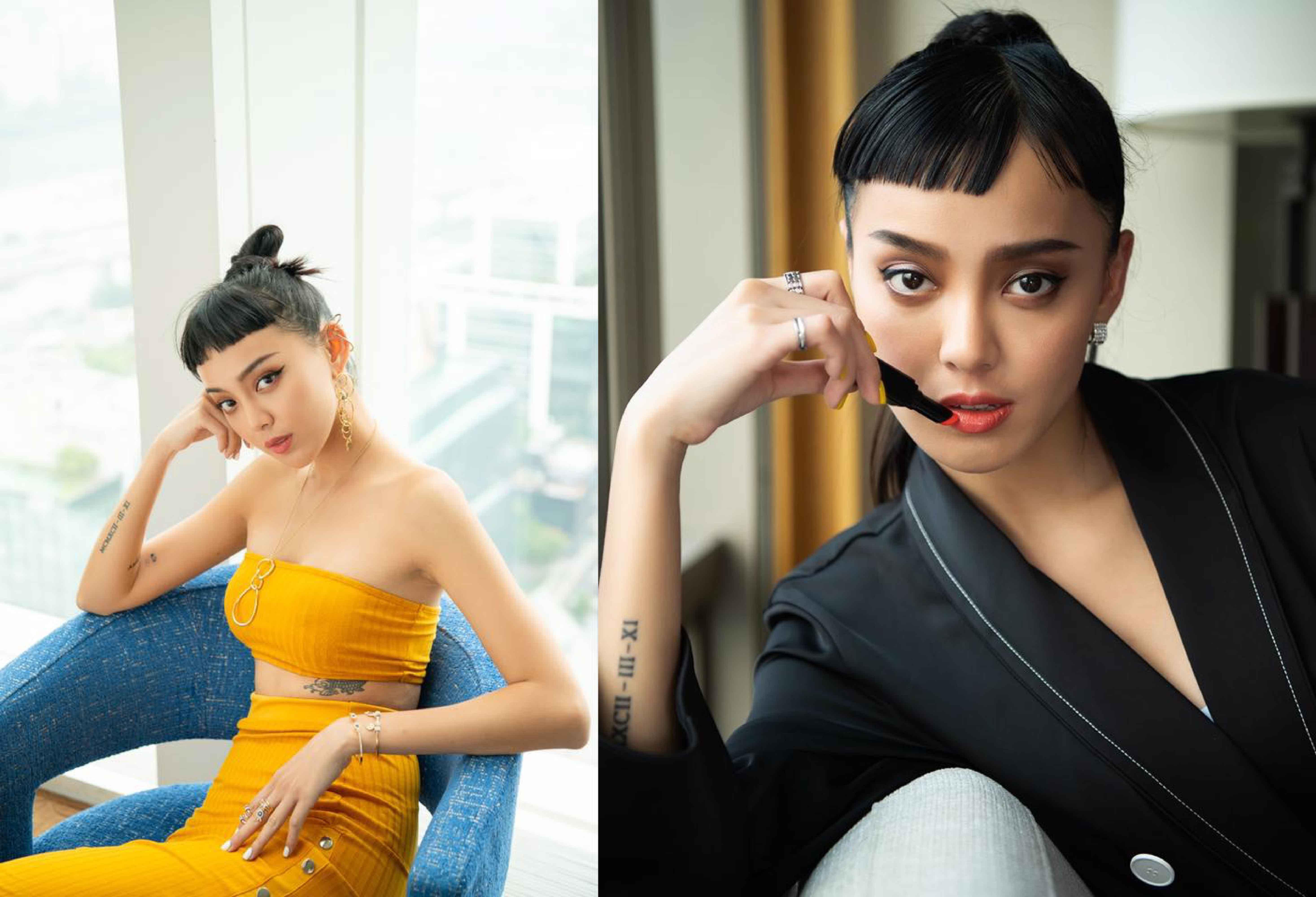 台韓混血兒李函(Kiwi),15歲就踏進模特兒行業,出道12個年頭