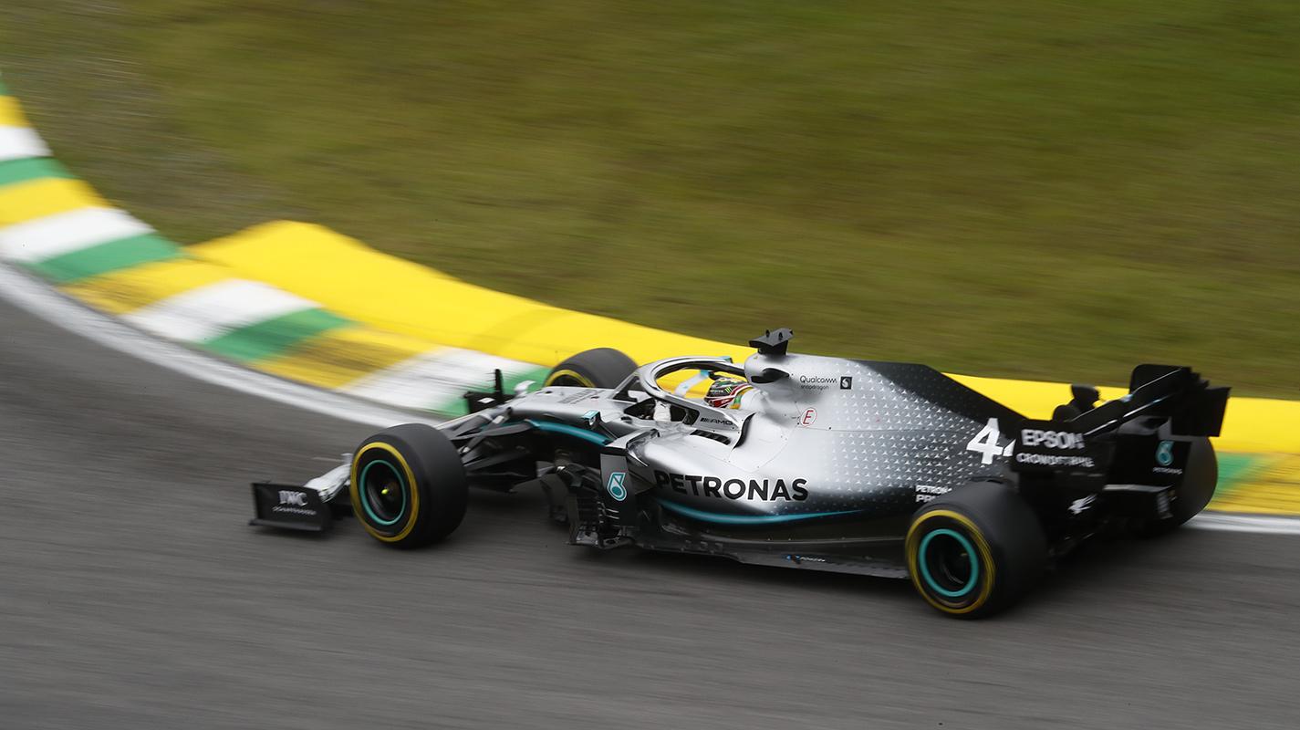 巴西GP自由練習三Hamilton險勝Verstappen