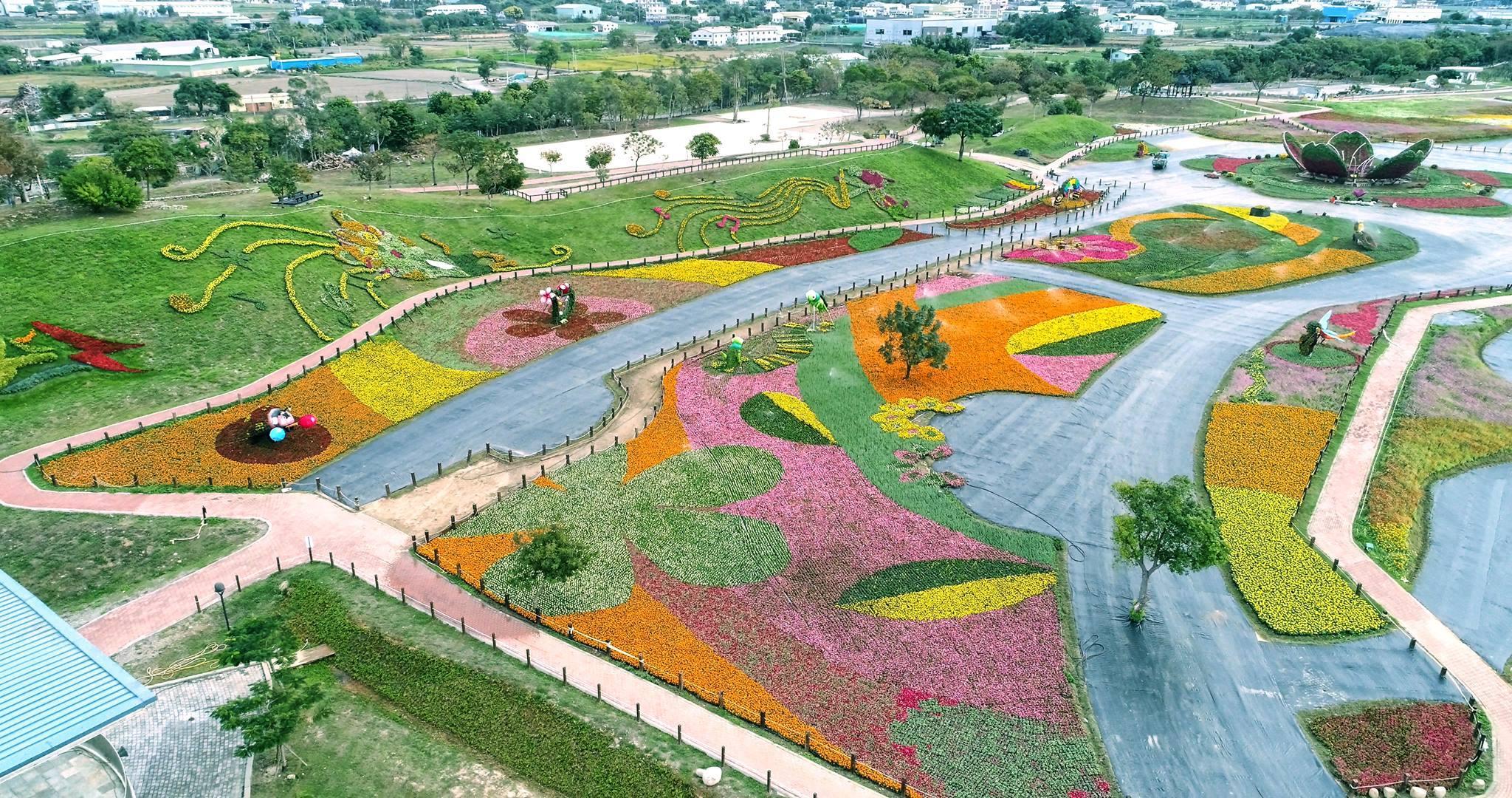 2017花毯節資料照(圖片來源:台中觀光旅遊網)