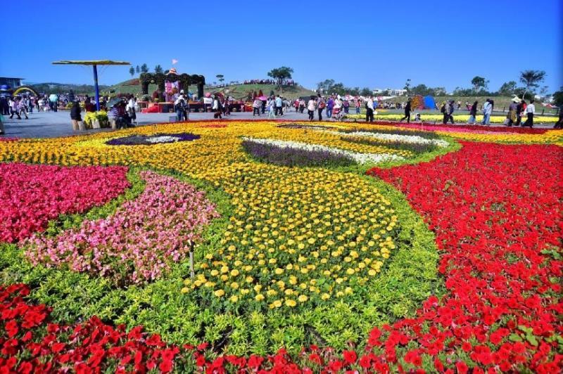 2016花毯節資料照 (圖片來源:台中觀光旅遊網)
