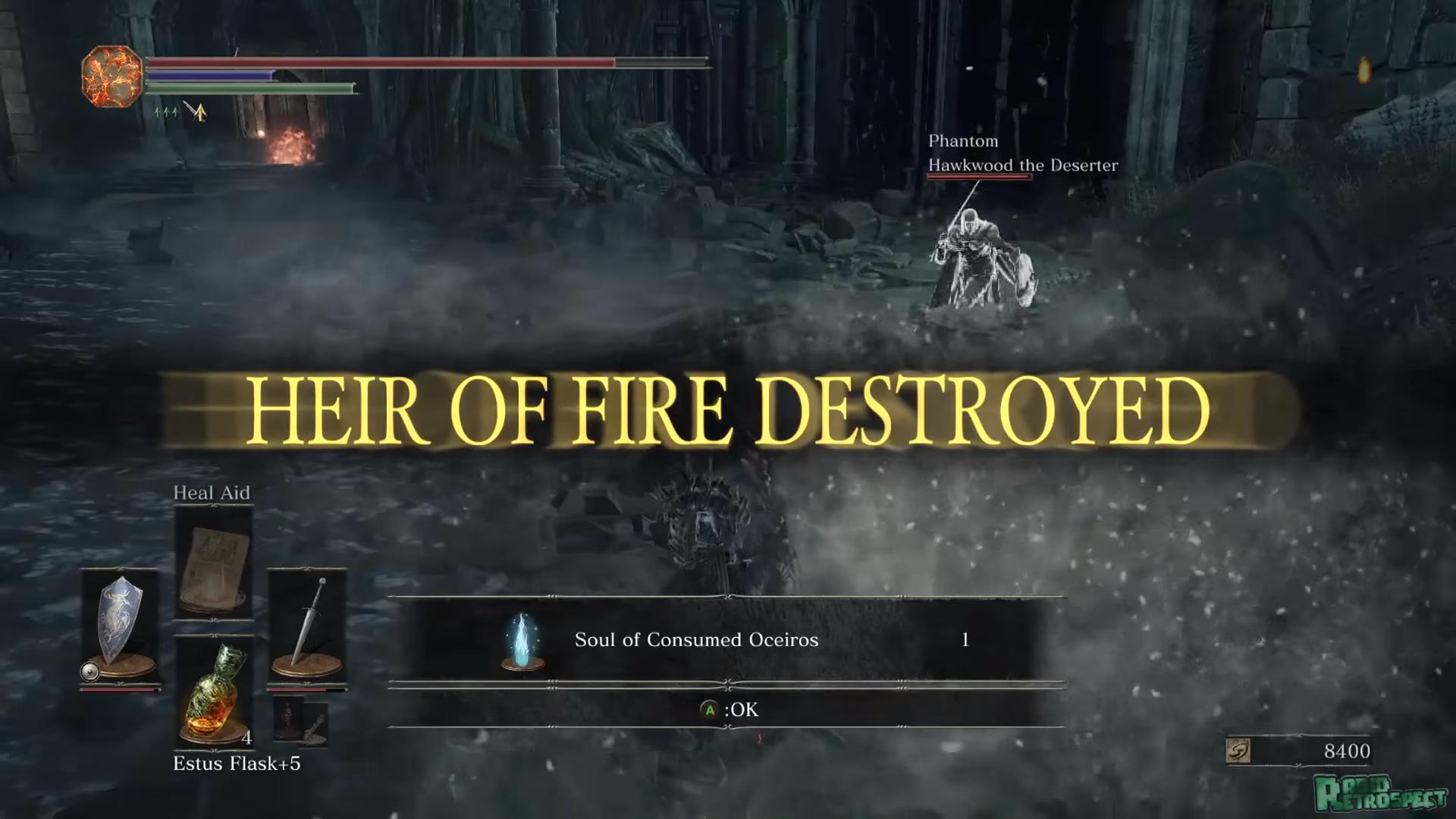 假如通關的實況主實力高強,那雲玩家可能就會嘴遊戲變簡單了。(圖源:Dark Souls 3)