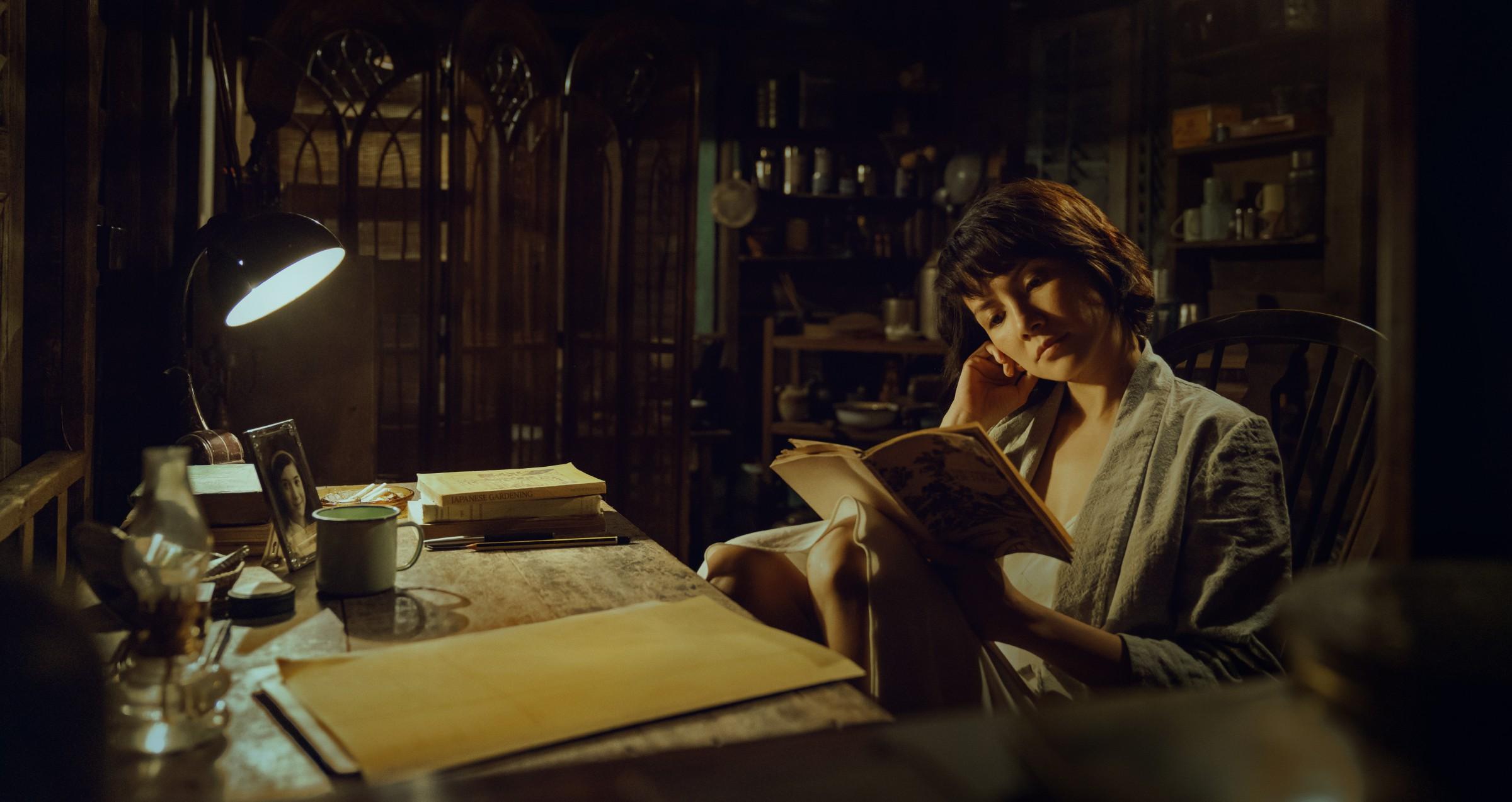 李心潔找了兩位老師苦練馬來西亞英式英文,同樣飾演女主角雲林的張艾嘉,則靠著李心潔的英文錄音來揣摩口音