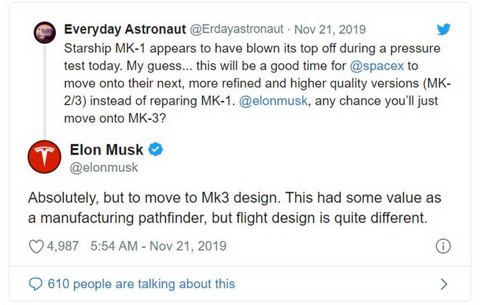 圖/SpaceX火箭測試以失敗收場,許多社群媒體自然不會放過這次落井下石機會。