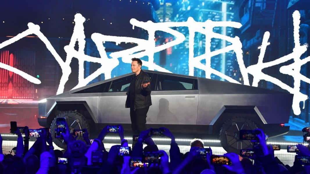 圖/Tesla日前風光發表最新電動車皮卡車Cybertruck,不過對這次SpaceX爆發事件,Elon Musk認為不是什麼重大挫折。