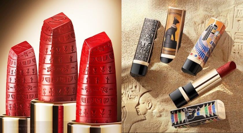 「埃及豔后」唇膏,從裡到外都是滿滿的古埃及圖騰。