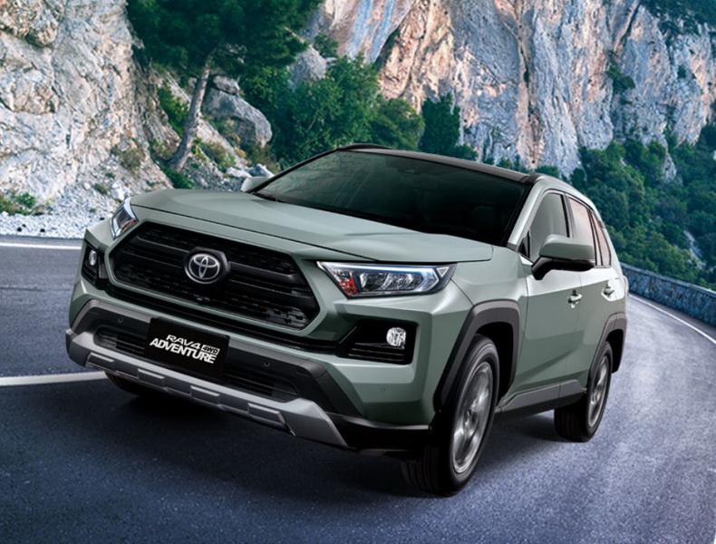 圖/高氣休旅車Toyota RAV4本月總共賣出3,739輛,在進口車排行榜中獨占鰲頭。