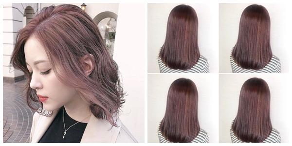 嫩色調的裸棕色調,是每年一進入春季就被大肆指名染髮的色號