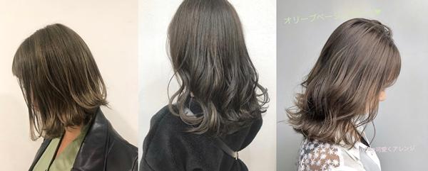 第三款不容易掉色的髮色就是#橄欖裸棕色
