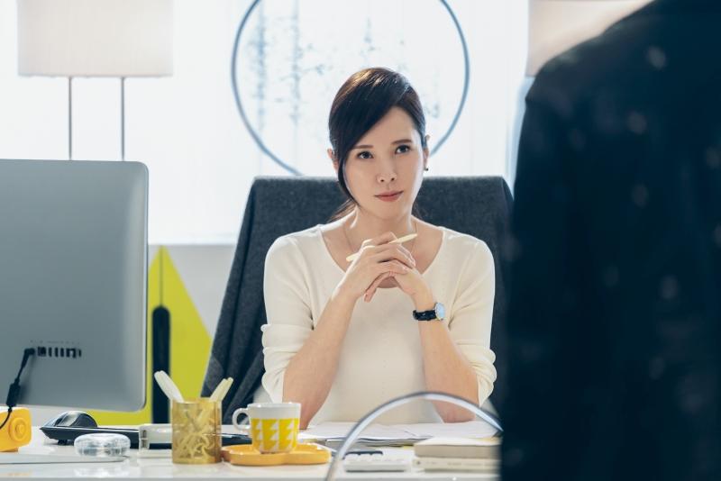 天心在《極道千金》飾演劉以豪的王牌經紀人