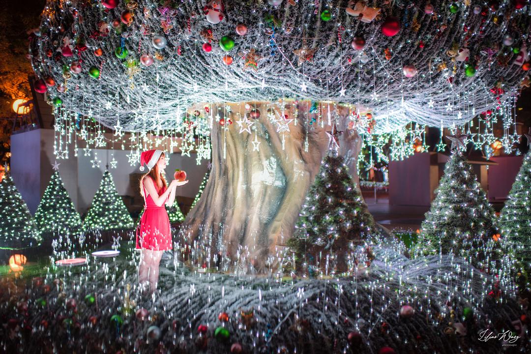 新北耶誕城試點燈!趕在11/15開幕人潮前快來美美拍一波