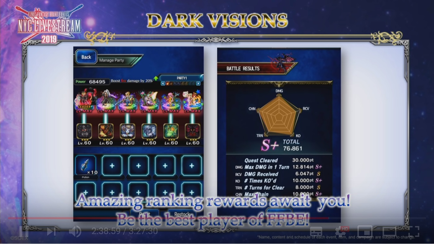 ▲全新的遊戲內容「Dark Visions: The Advent of Chaos」