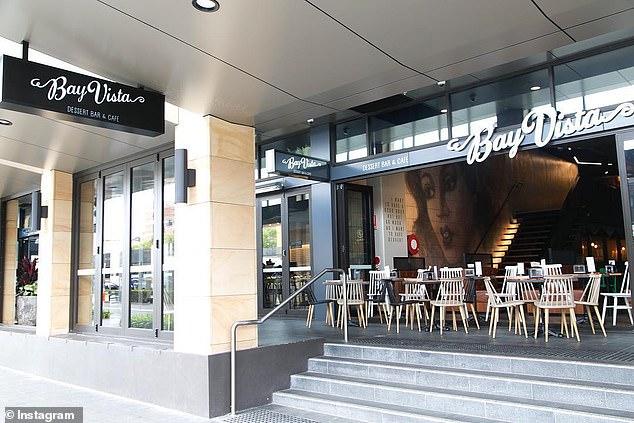 The attack happened at Bay Vista, a cafe in Sydney. (Instagram)
