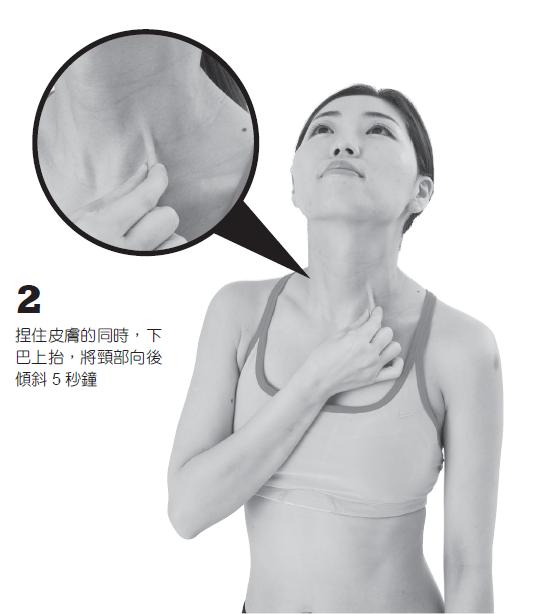 胸鎖乳突肌位於鎖骨靠頸側的上方。鬆解位置在鎖骨的上內側