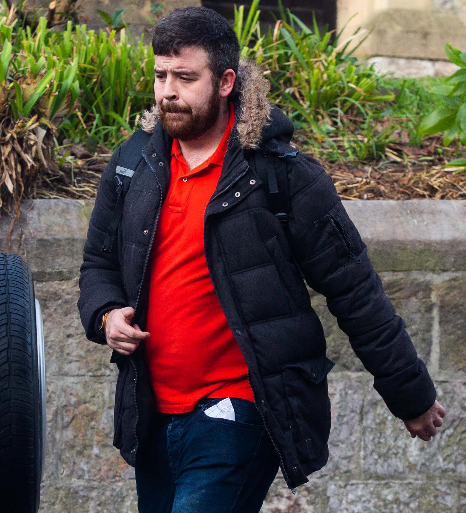 Paul Elcombe at Plymouth Magistrates Court on Thursday. (SWNS)