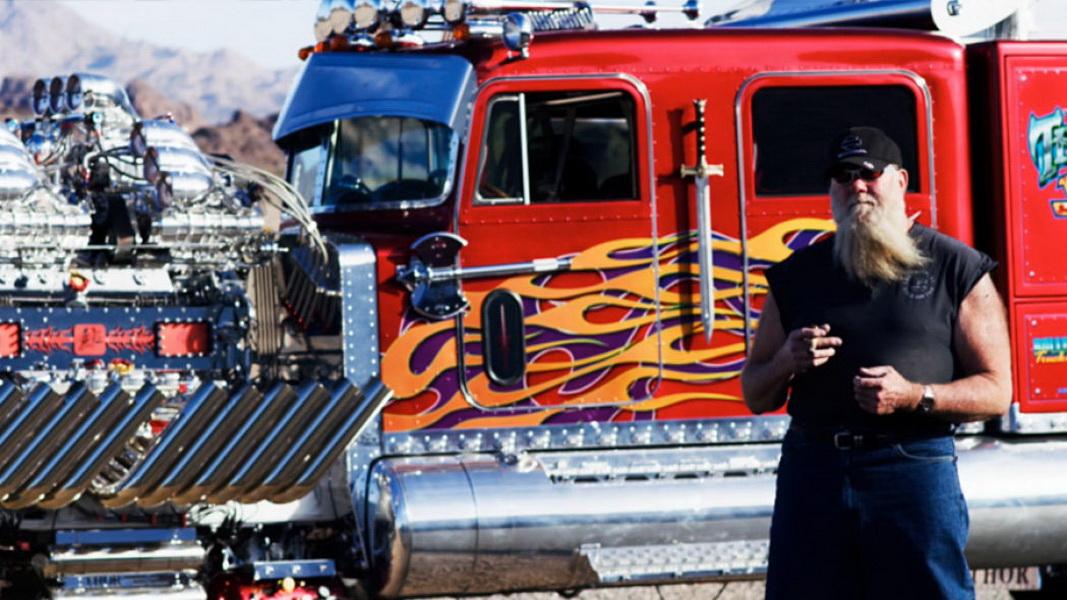 圖/Thor 24拖車頭由Mike Harrah花費7年時間、耗資700萬美元所打造。