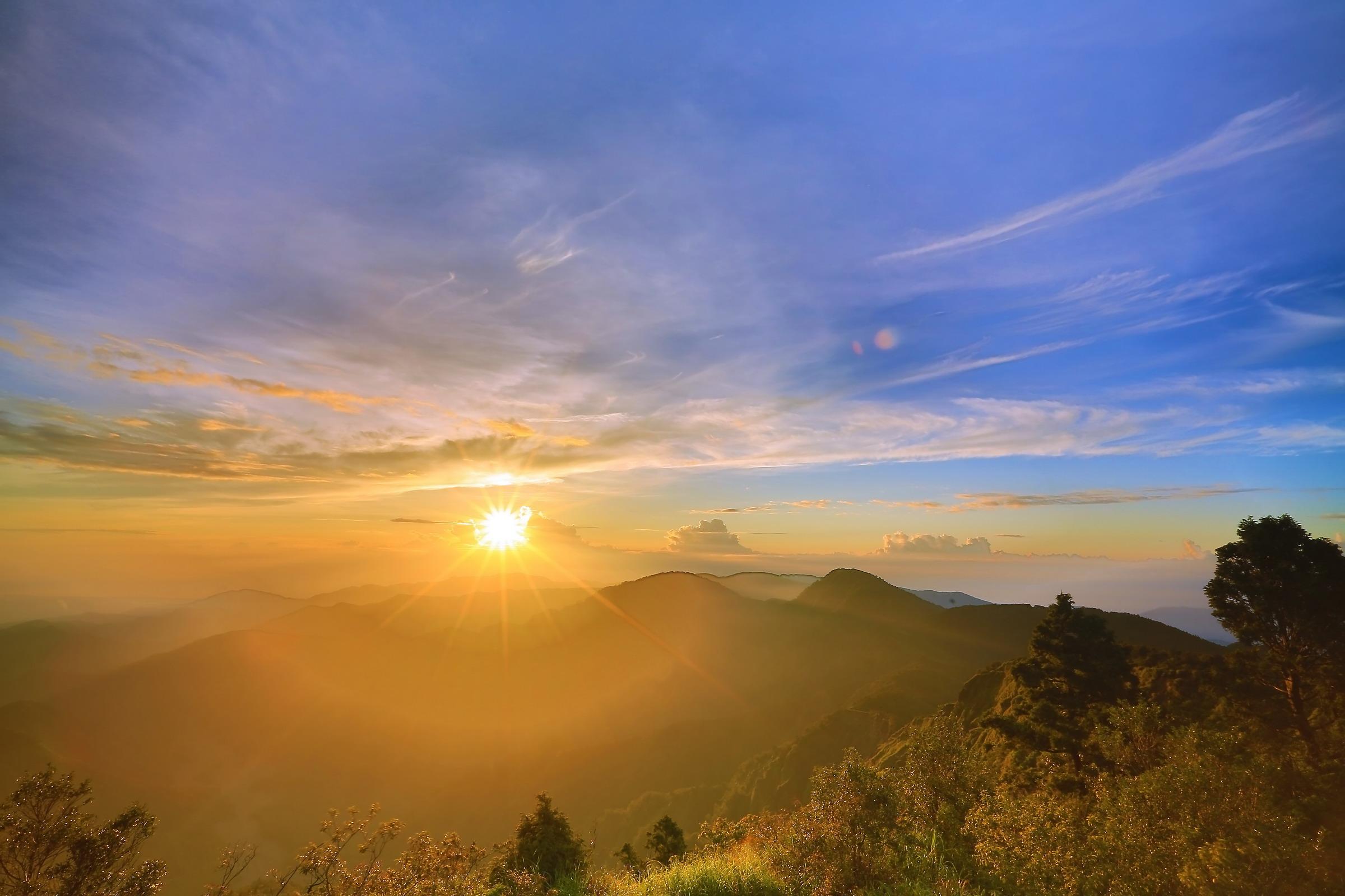 太平山國家森林遊樂區元旦當日提早在清晨三點開放入園,方便遊客上山追曙光。圖/太平山國家森林遊樂區官網