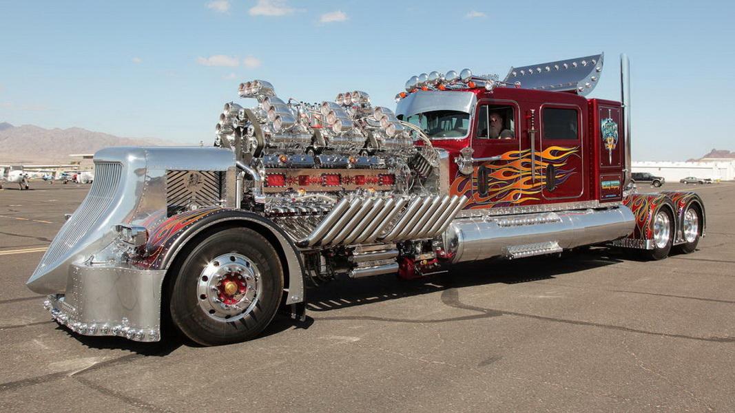 圖/華麗風格超吸睛,這拖車頭要價1,200萬美金。