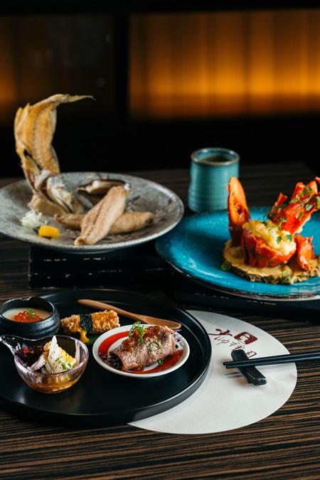 大帥府傳套餐包括長壽肆喜、霸王豪宴蝦、大帥午仔魚。攝影/Ray