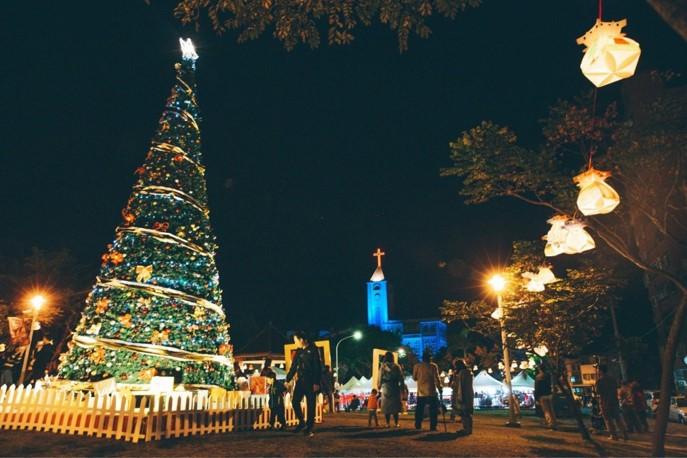 花蓮幸福耶誕城特別規劃一系列活動迎接聖誕節到來,絕無冷場。圖/花蓮觀光資訊網