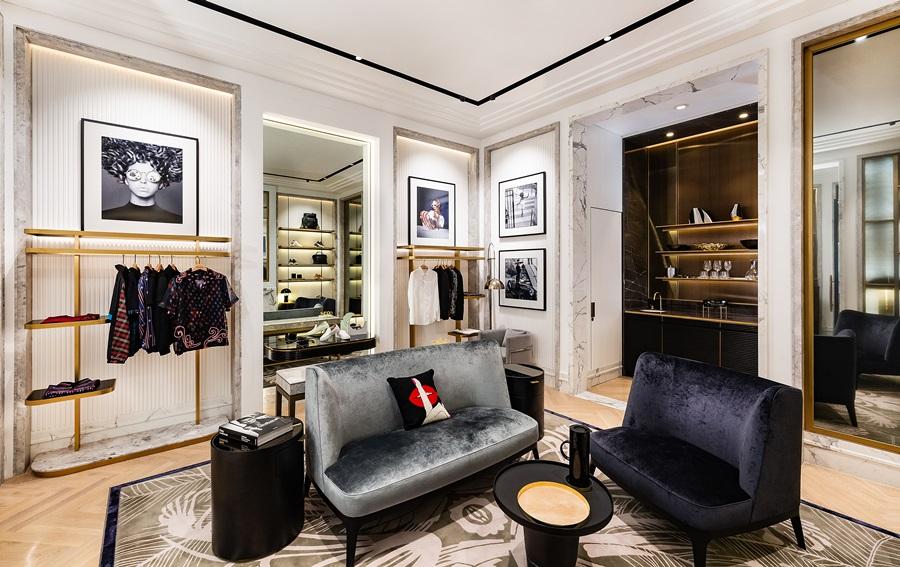 巴黎人造型時尚廊。圖片提供/澳門巴黎人