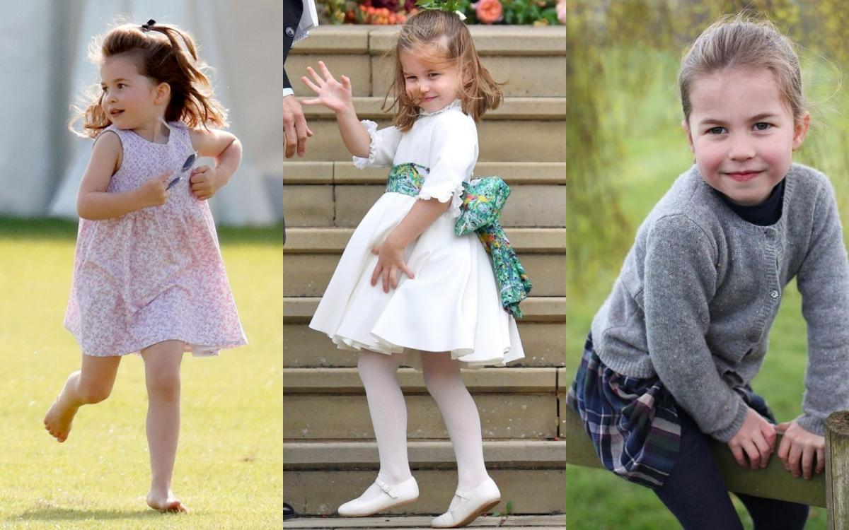 今年開始上學的夏綠蒂公主,可說是越漲越漂亮
