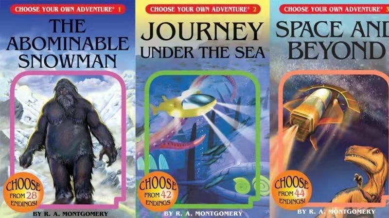 選擇你的冒險之旅