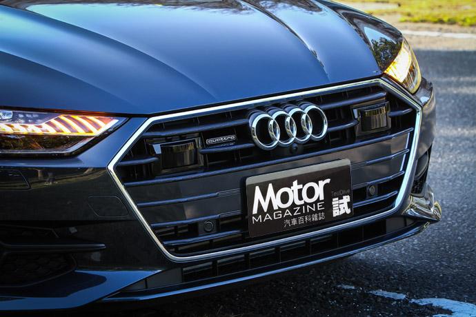 大面積六角式水箱護罩的兩側,除了別上招牌的quattro字樣外,跟車系統的雷達也整合於水箱護罩的兩側。版權所有/汽車視界
