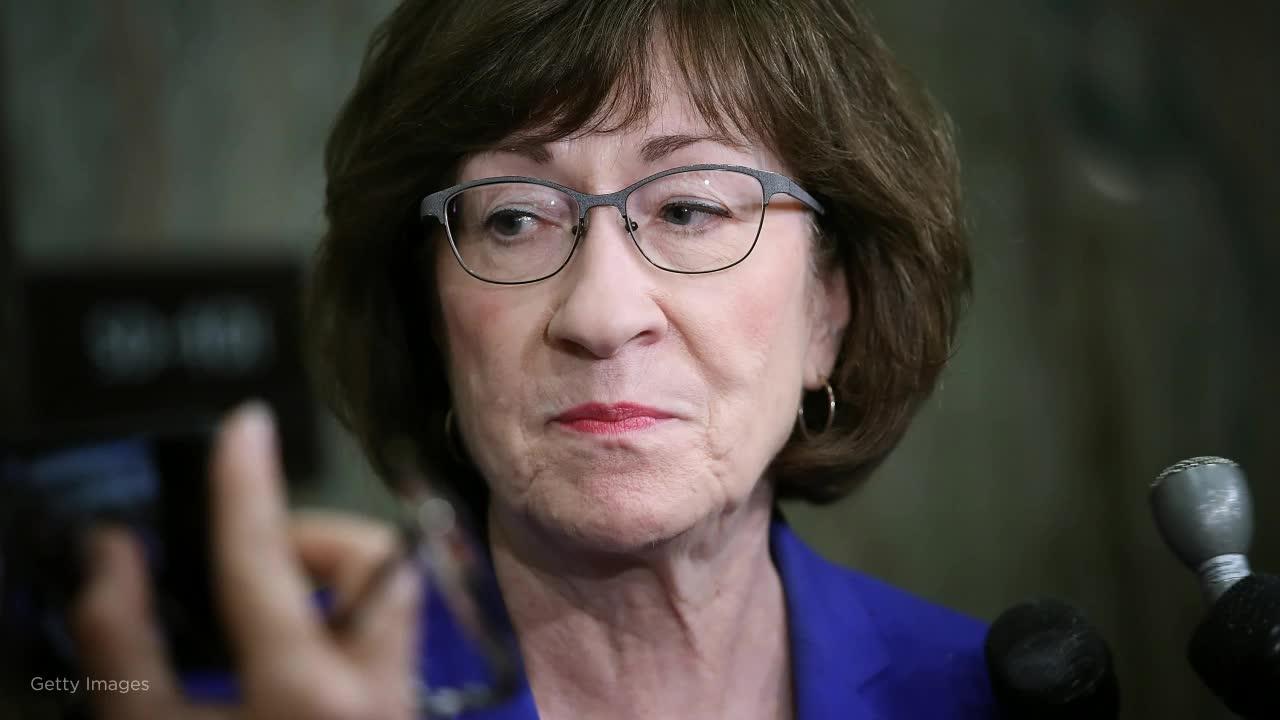 GOP Sen. Collins is open to calling impeachment witnesses