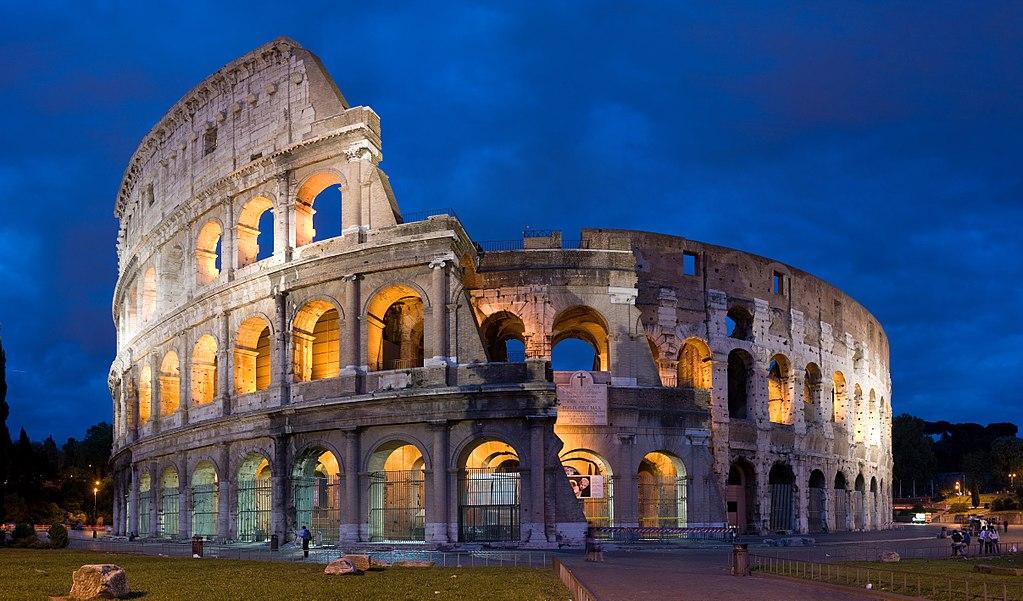 羅馬競技場 (Photo by DAVID ILIFF. License: CC BY-SA 3.0, Wikimedia Commons提供)