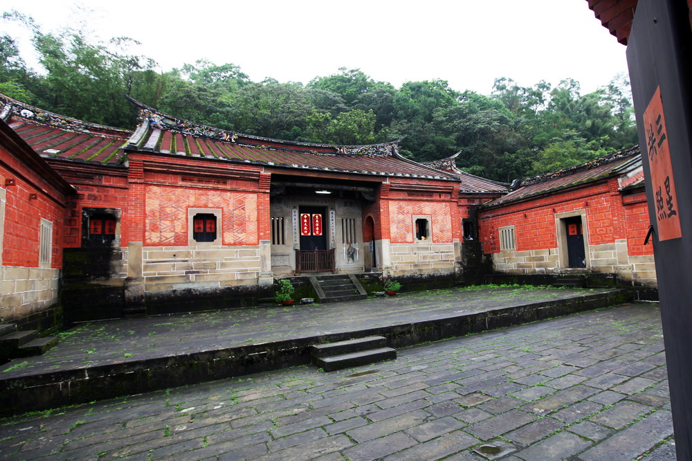 深坑黃氏永安居是深坑古厝裏頭最廣為人知的一處宅第,被列為三級古蹟。圖/國家文化資產網