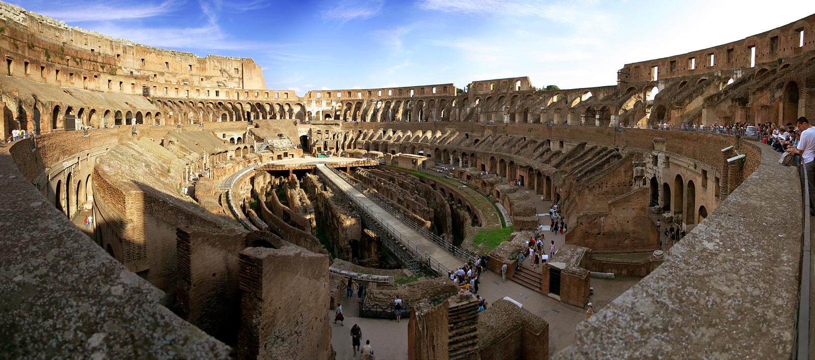 羅馬競技場 (Photo by Stefan Bauer, License: CC BY-SA 2.5, 圖片來源www.ferras.at)