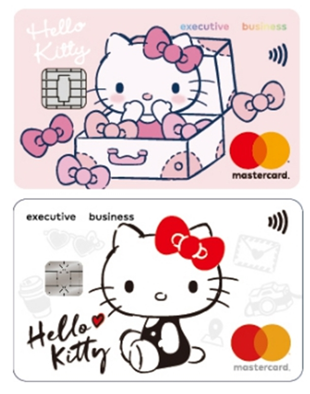 Hello Kitty分享聯名卡,光外貌就大加分