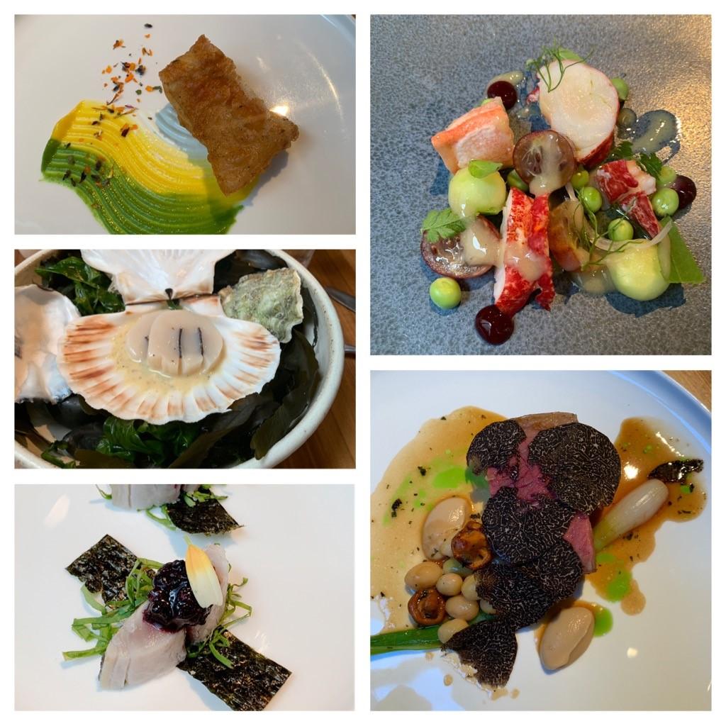 ▲倫敦火紅的餐廳,還有用異國主廚做出的日本料理,都在這次朱琦郁品嘗美食的口袋名單。
