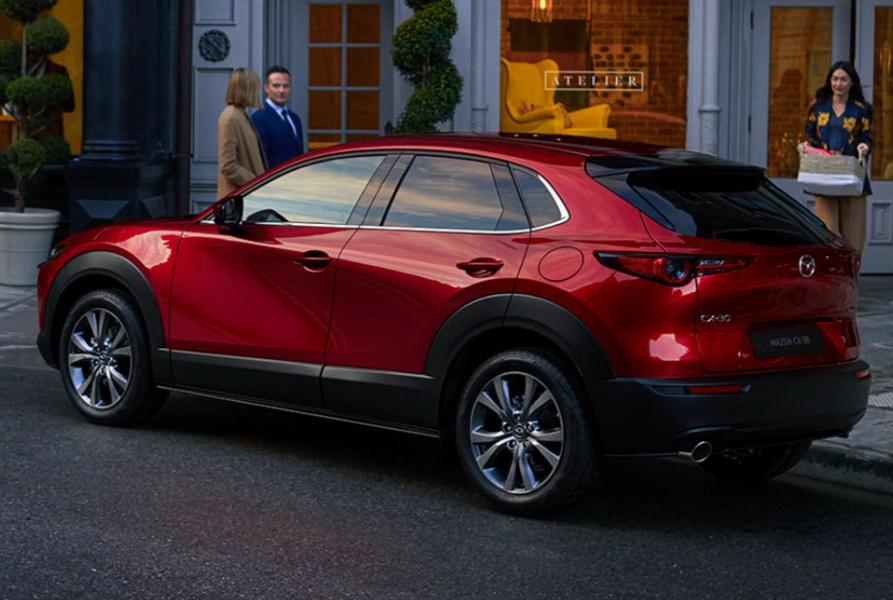 圖/本月進口車榜單一大亮點為跨界跑旅Mazda CX-30,剛上市不久就衝到第5名,後勢表現令人期待。