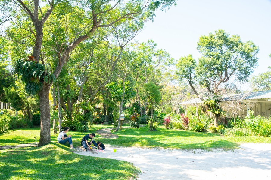 偌大園區適合全家親子共遊。攝影/李文欽