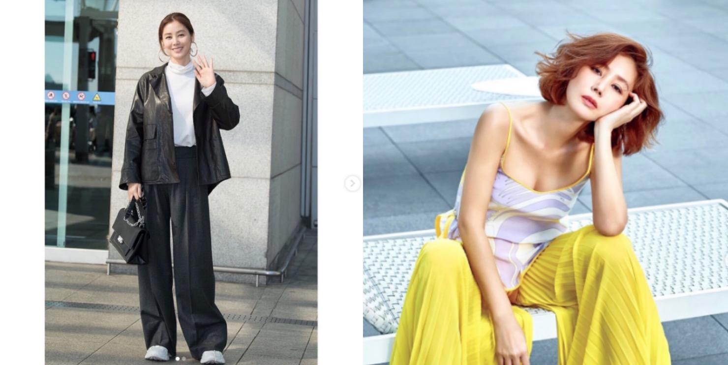 52歲金成鈴拍起時尚大片完全不輸年輕女星,凍齡外貌引發話題。