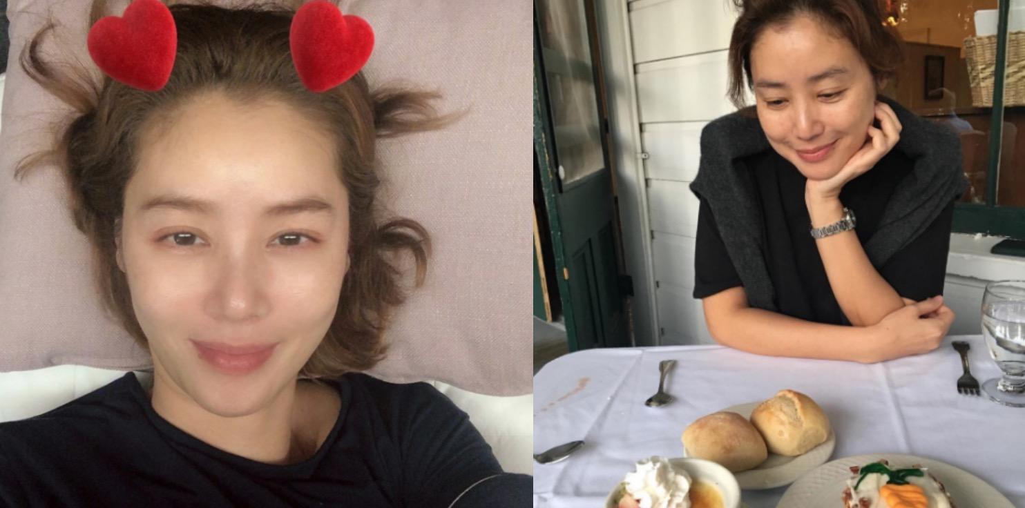 52歲女星金成鈴,因有完美膚況與修長美腿,在韓國也是著名的美魔女。