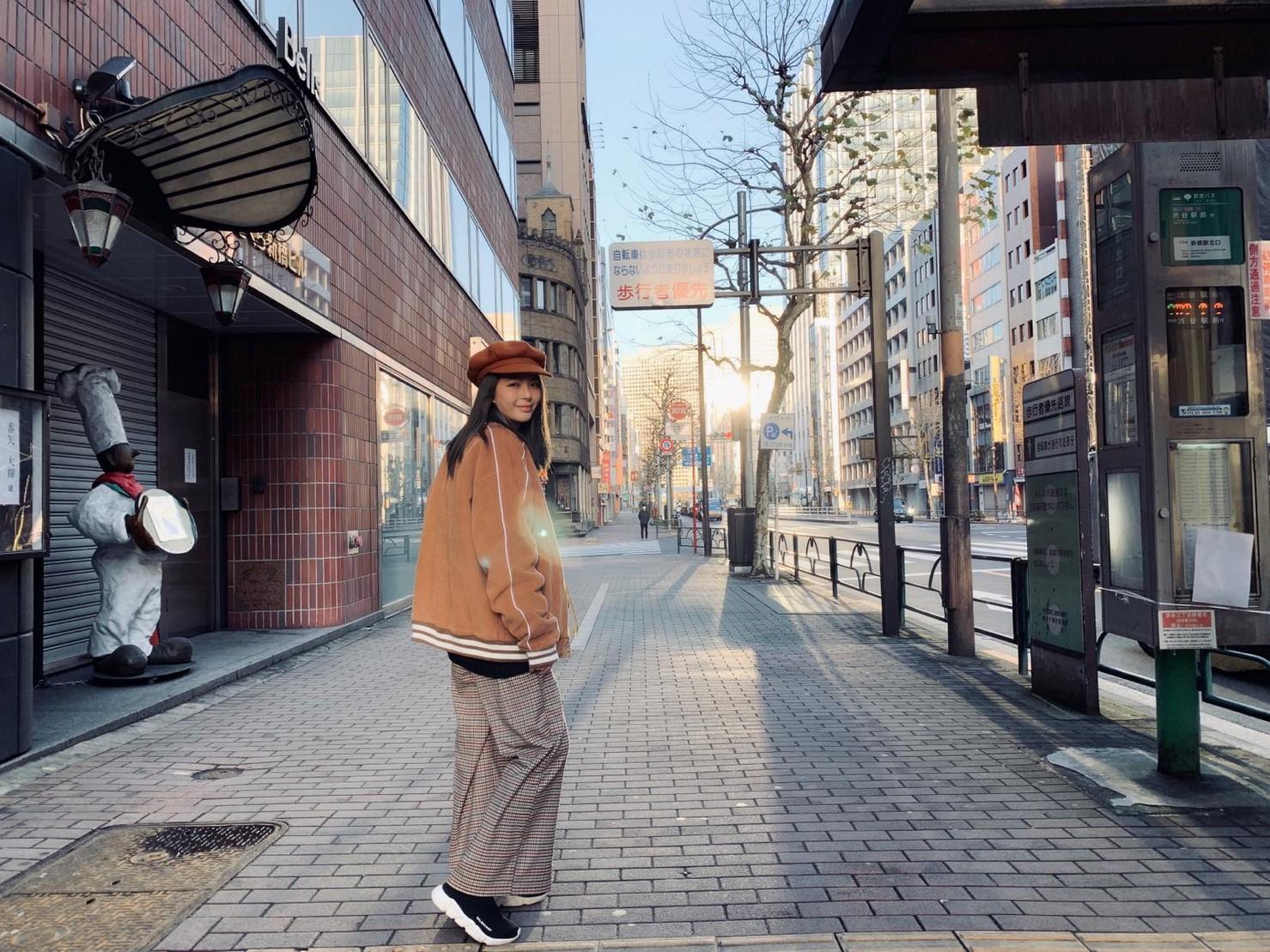▲對於黃沐妍而言,想要放鬆或逛街買東西時,東京就是旅遊首選。