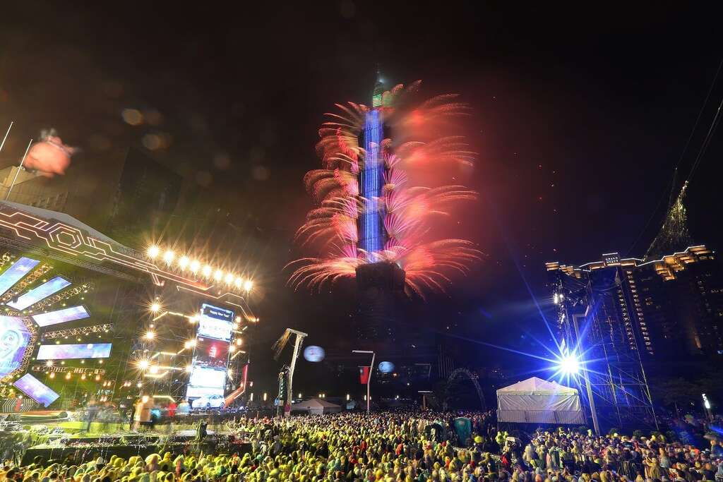 到台北101跨年,除了看跨年晚會追星,煙火秀也是不可錯過的年度大戲。圖/台北觀光旅遊網