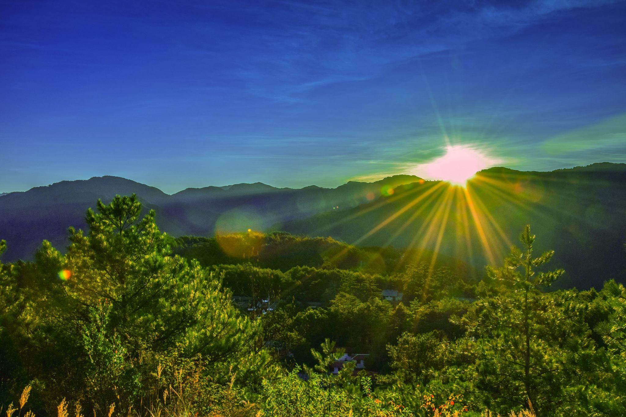 福壽山農場著名景點-天池為在農場腹地內的最高處,是最佳日出觀賞地點。圖/福壽山農場臉書粉絲專頁