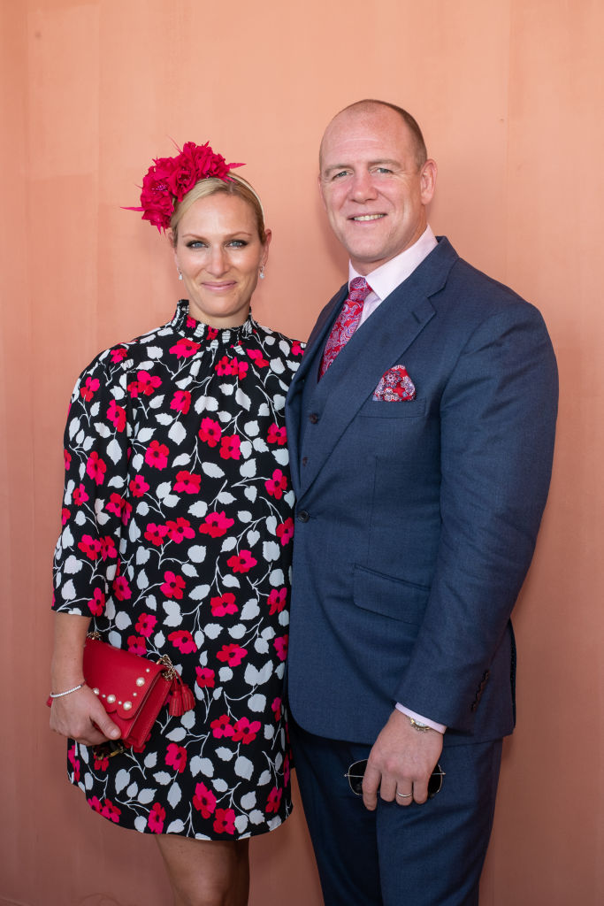 Zara and Mike Tindall attend the Moet Marquee Magic Millions Raceday at the Gold Coast, Australia in January 2019 [Photo: Getty]