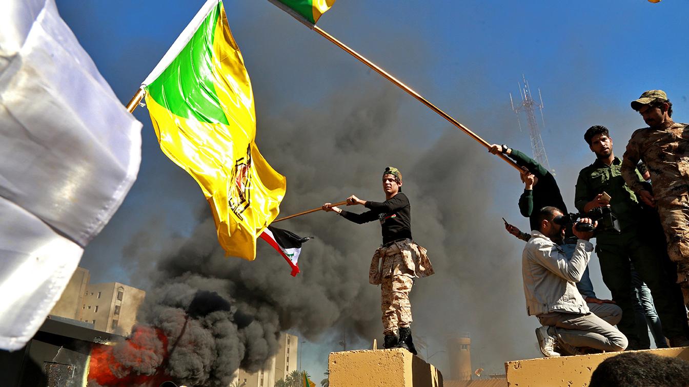 PHOTOS: Iraqi Shiites break into U.S. Embassy in Baghdad