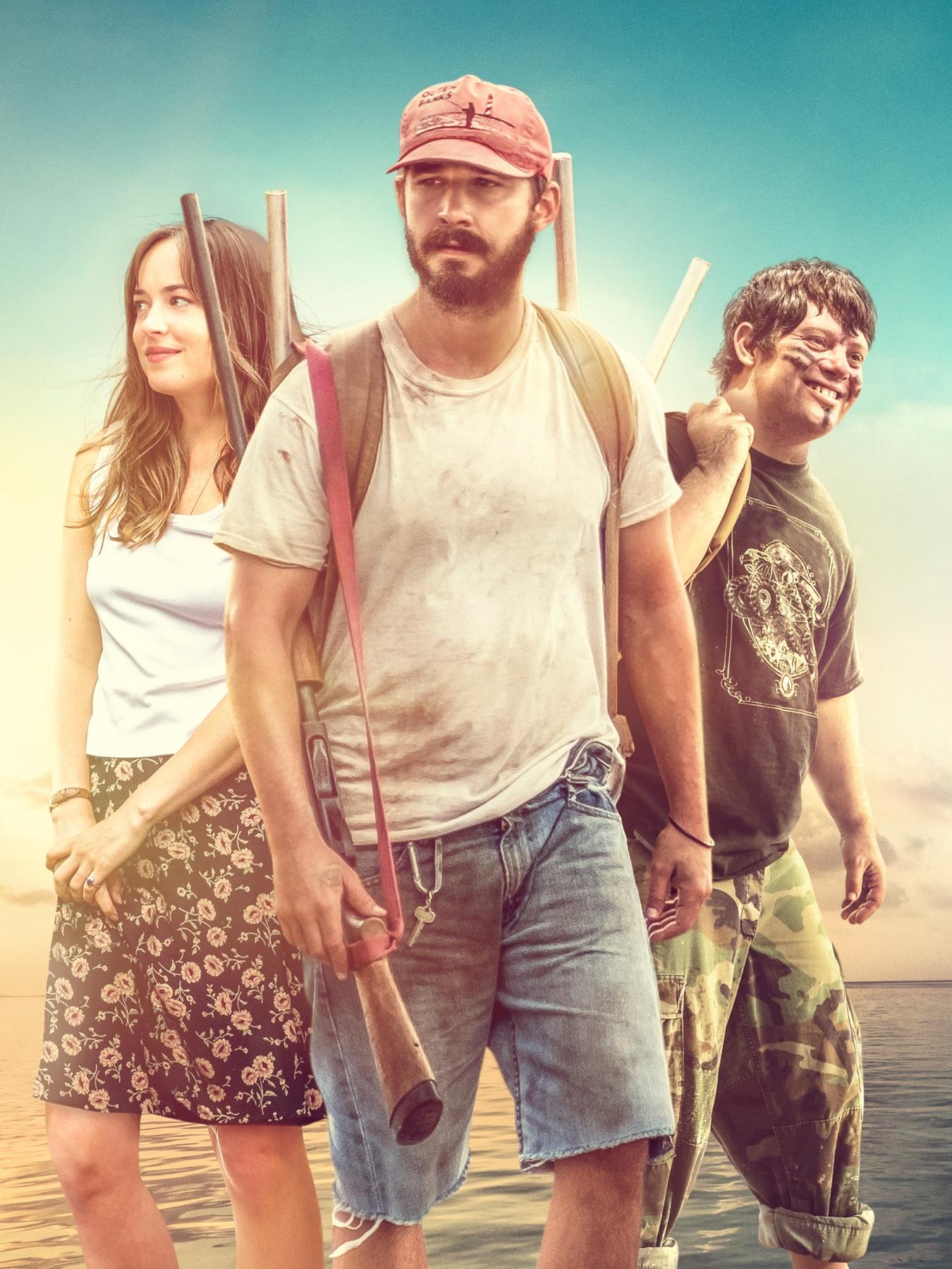 本片成為2019年美國最賣座的獨立電影,左起為達珂塔強森、西亞李畢福、查克格薩根