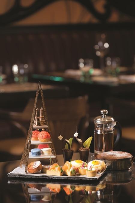 巴黎人法式餐廳下午茶。圖片提供/澳門巴黎人
