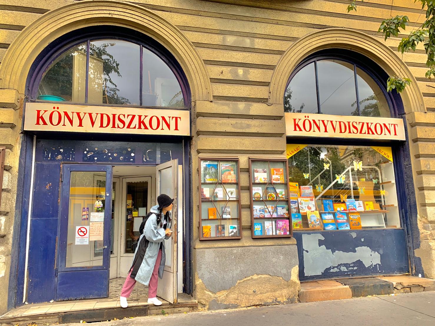 ▲布達佩斯到處充滿斑駁的建築物,讓趙小僑感到特別有味道。