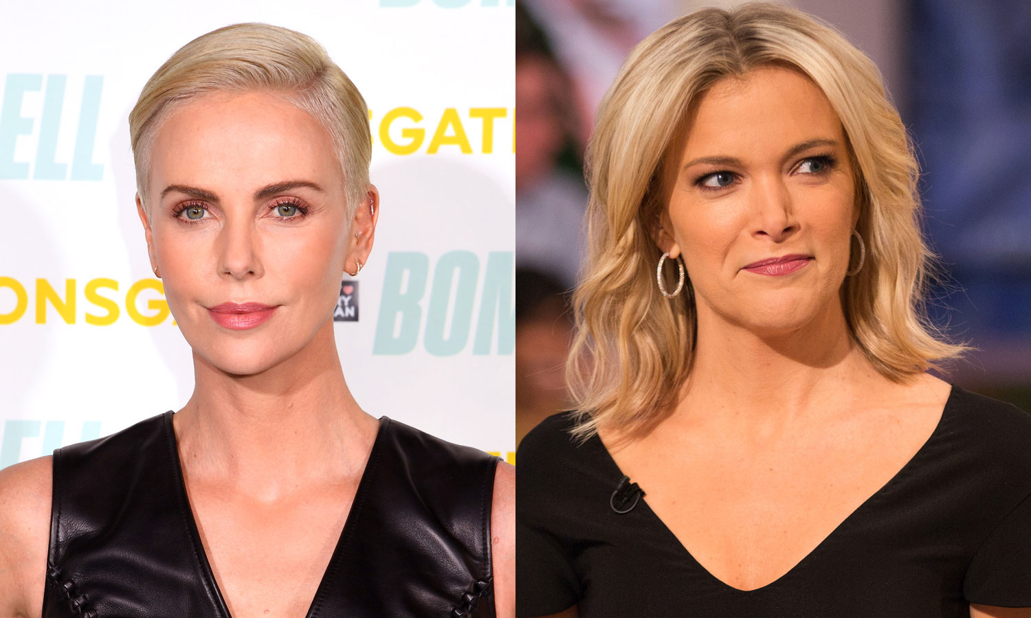 Charlize Theron says it was hard to film Megyn Kellys Santa is white segment in Bombshell as a mom to black kids