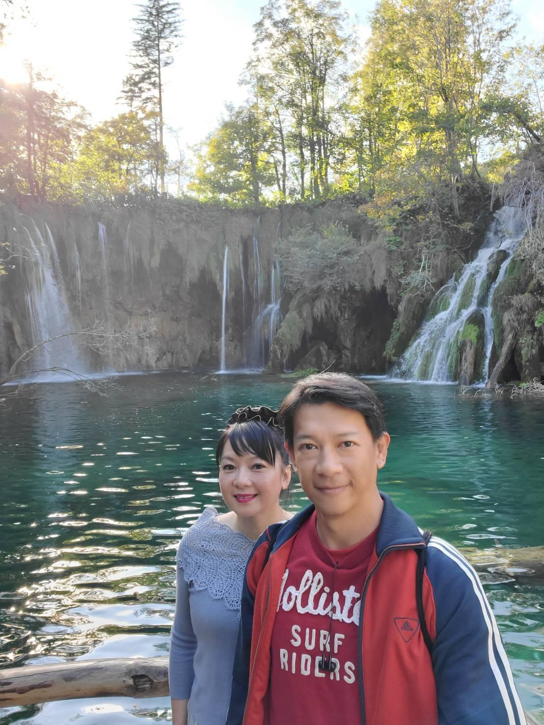 ▲克羅埃西亞一遊不能錯過的十六湖,景色之美,讓徐展元和谷懷萱驚嘆,如詩如畫。