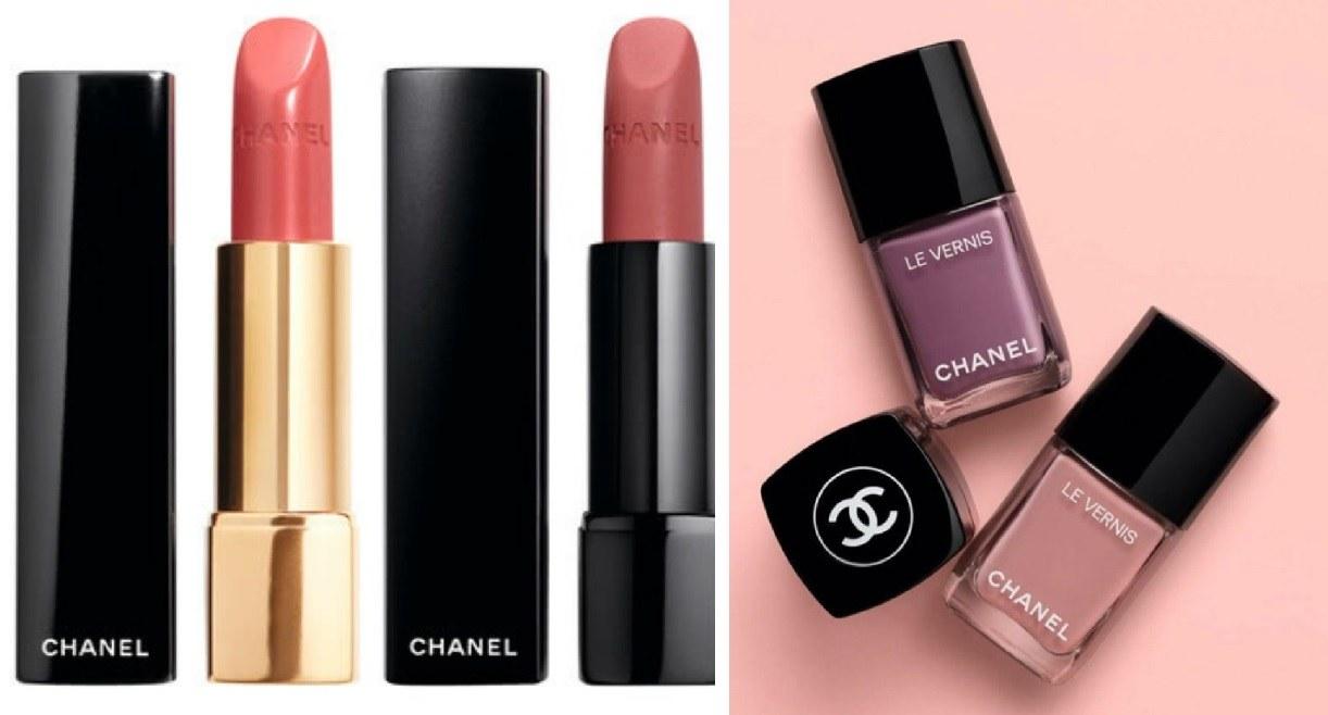 限量春妝唇膏分別是蜜桃玫瑰色調的Rouge Allure Lipstick#191和暖調玫瑰珊瑚的Rouge Allure Velvet Extreme Lipstick#132