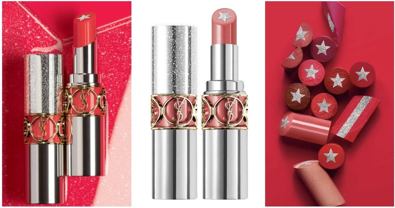 2020年春天YSL將推出超俏皮的星星夾心唇膏,中央的星星內芯是帶著極致閃耀星鑽的潤唇配方,一抹瞬間就能為唇色帶來極微妙的立體性感豐唇效果